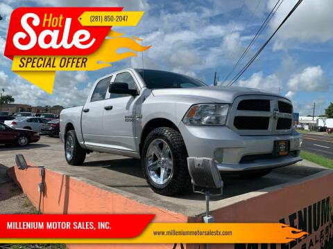 2014 RAM Ram Pickup 1500 for sale at MILLENIUM MOTOR SALES, INC. in Rosenberg TX