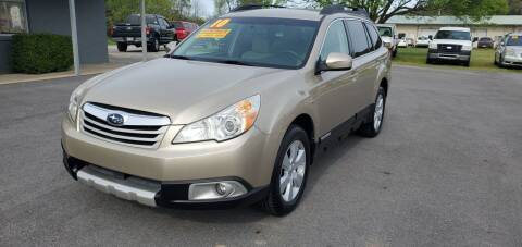 2010 Subaru Outback for sale at Jacks Auto Sales in Mountain Home AR