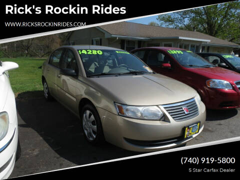 2007 Saturn Ion for sale at Rick's Rockin Rides in Reynoldsburg OH