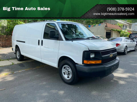 2014 Chevrolet Express Cargo for sale at Big Time Auto Sales in Vauxhall NJ