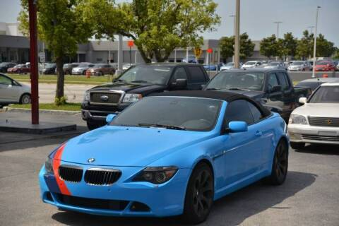 2007 BMW 6 Series for sale at Motor Car Concepts II - Apopka Location in Apopka FL