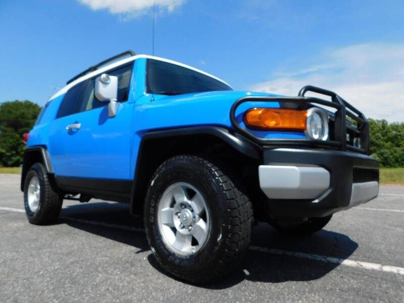 2008 Toyota FJ Cruiser for sale at Used Cars For Sale in Kernersville NC