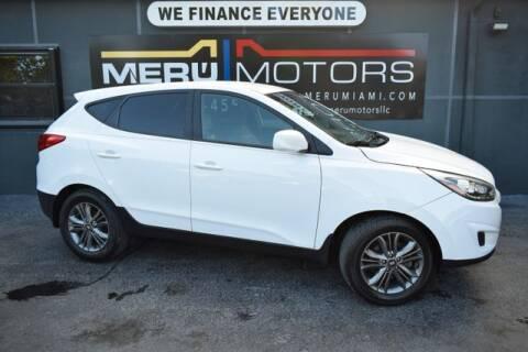 2014 Hyundai Tucson for sale at Meru Motors in Hollywood FL