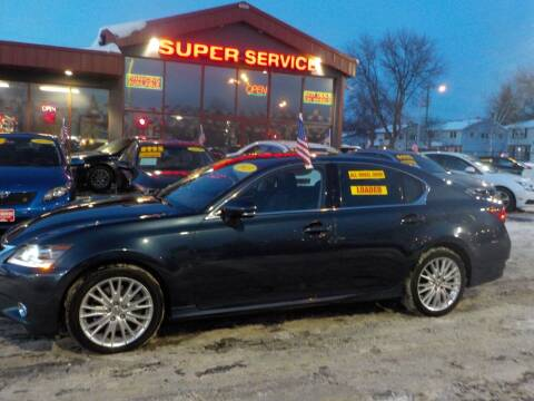 2013 Lexus GS 350 for sale at Super Service Used Cars in Milwaukee WI