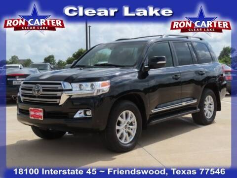 2017 Toyota Land Cruiser for sale at Ron Carter  Clear Lake Used Cars in Houston TX