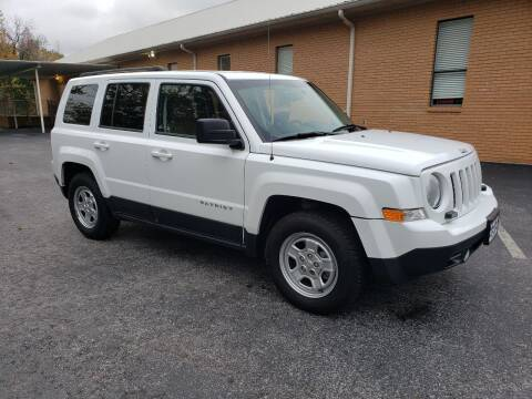 2014 Jeep Patriot for sale at Wheel Tech Motor Vehicle Sales in Maylene AL