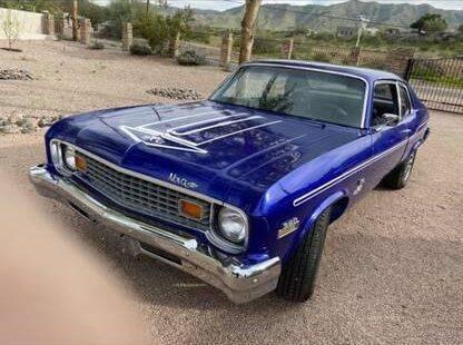 1973 Chevrolet Nova for sale at Classic Car Deals in Cadillac MI