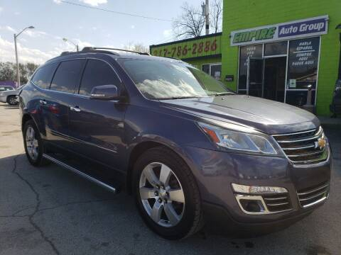 2014 Chevrolet Traverse for sale at Empire Auto Group in Indianapolis IN