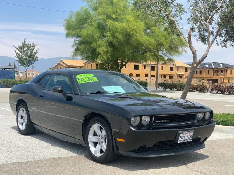 2013 Dodge Challenger for sale at Esquivel Auto Depot in Rialto CA