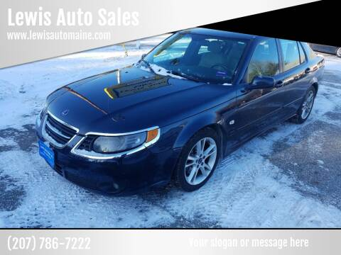 2009 Saab 9-5 for sale at Lewis Auto Sales in Lisbon ME