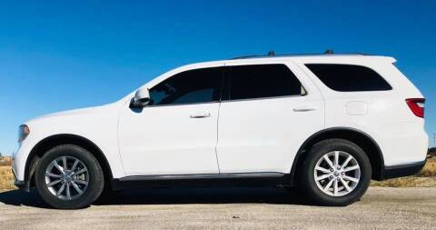 2014 Dodge Durango for sale at Palmer Auto Sales in Rosenberg TX