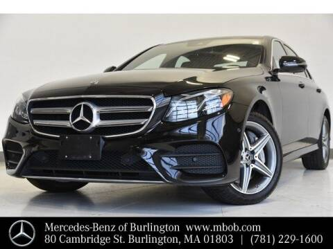 2018 Mercedes-Benz E-Class for sale at Mercedes Benz of Burlington in Burlington MA