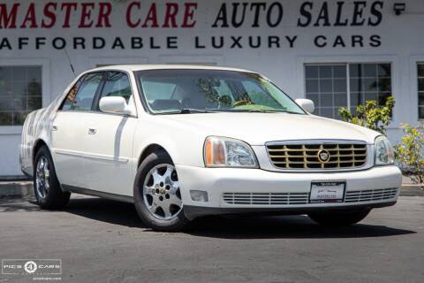 2002 Cadillac DeVille for sale at Mastercare Auto Sales in San Marcos CA