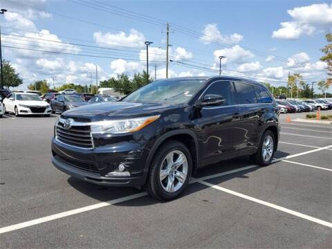 2016 Toyota Highlander for sale at Southern Auto Solutions - Honda Carland in Marietta GA
