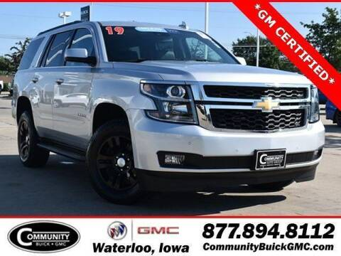 2019 Chevrolet Tahoe for sale at Community Buick GMC in Waterloo IA