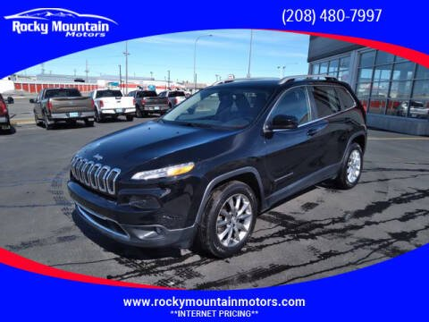 2017 Jeep Cherokee for sale at Rocky Mountain Motors in Idaho Falls ID