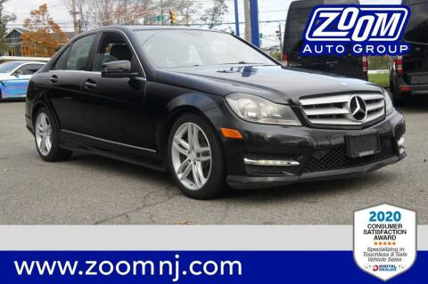 2013 Mercedes-Benz C-Class for sale at Zoom Auto Group in Parsippany NJ