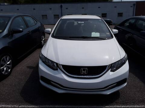 2015 Honda Civic for sale at Auto Villa in Danville VA