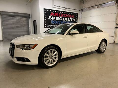 2014 Audi A6 for sale at Arizona Specialty Motors in Tempe AZ