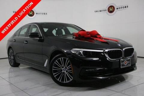 2018 BMW 5 Series for sale at INDY'S UNLIMITED MOTORS - UNLIMITED MOTORS in Westfield IN