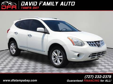 2013 Nissan Rogue for sale at David Family Auto in New Port Richey FL