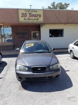 2001 Hyundai Elantra for sale at Easy Credit Auto Sales in Cocoa FL