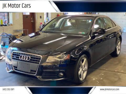 2009 Audi A4 for sale at JK Motor Cars in Pittsburgh PA