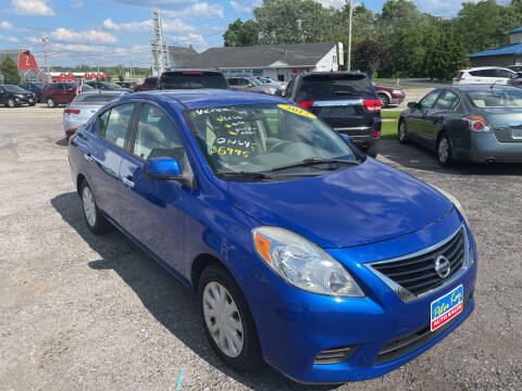 2012 Nissan Versa for sale at Peter Kay Auto Sales in Alden NY