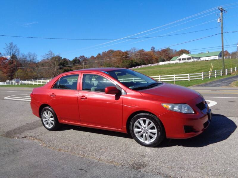 2010 Toyota Corolla for sale at Car Depot Auto Sales Inc in Seymour TN