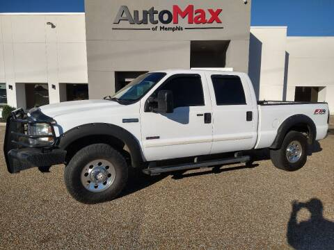 2005 Ford F-250 Super Duty for sale at AutoMax of Memphis - Darrell James in Memphis TN