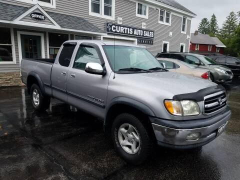 2002 Toyota Tundra for sale at CURTIS AUTO SALES in Pittsford VT