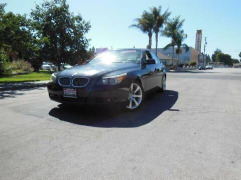 2007 BMW 5 Series for sale at Top Notch Auto Sales in San Jose CA
