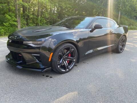 2018 Chevrolet Camaro for sale at Riverside Auto Sales & Service in Portland ME