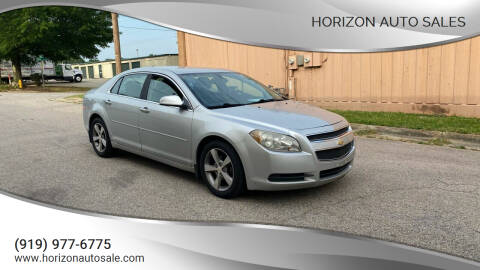 2012 Chevrolet Malibu for sale at Horizon Auto Sales in Raleigh NC