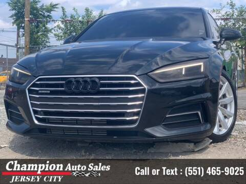 2018 Audi A5 for sale at CHAMPION AUTO SALES OF JERSEY CITY in Jersey City NJ