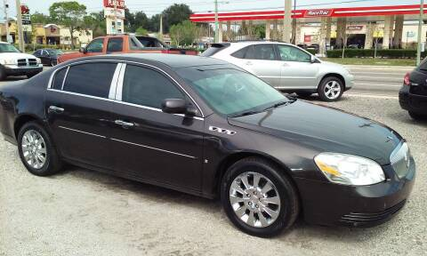 2009 Buick Lucerne for sale at Pinellas Auto Brokers in Saint Petersburg FL