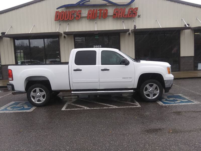 2011 GMC Sierra 2500HD 4x4 SLE 4dr Crew Cab SB - Pleasant View TN
