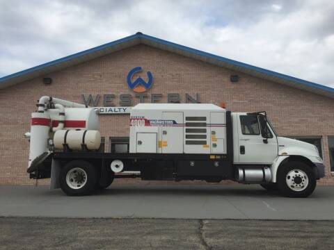 2013 International Vacmasters Vac Truck for sale at Western Specialty Vehicle Sales in Braidwood IL
