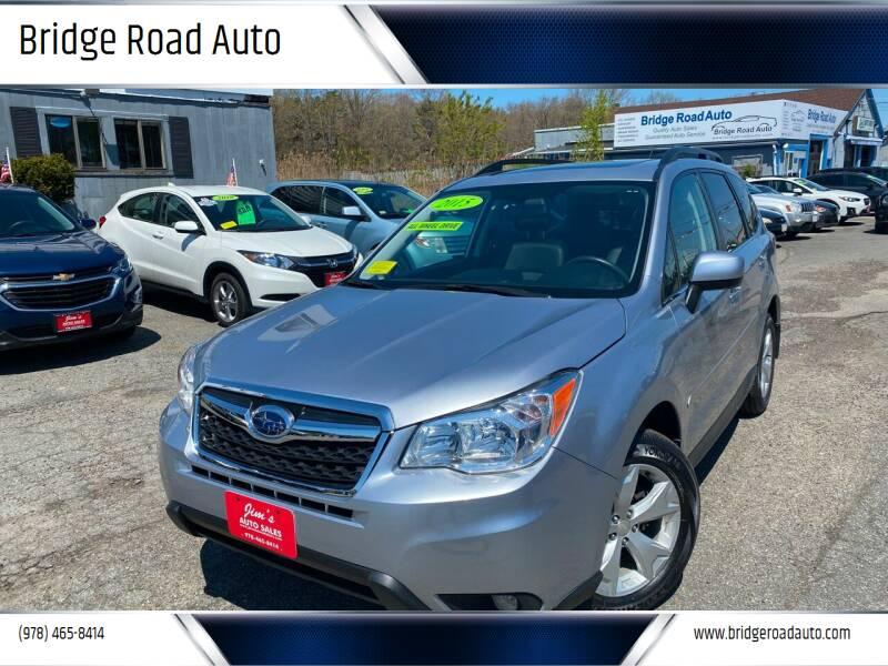 2015 Subaru Forester for sale at Bridge Road Auto in Salisbury MA