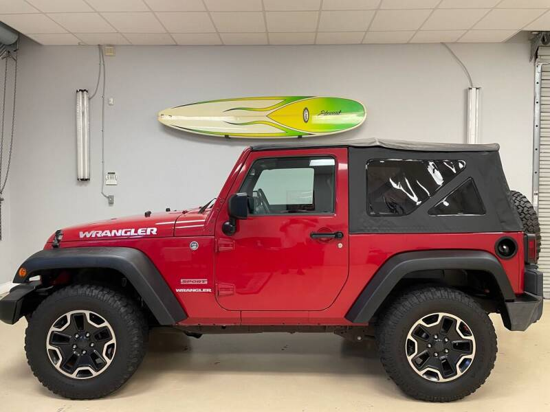 2010 Jeep Wrangler for sale at Jeep and Truck USA in Tampa FL
