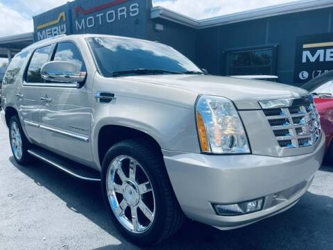 2007 Cadillac Escalade for sale at Meru Motors in Hollywood FL