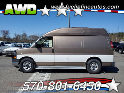 2004 GMC Savana Cargo for sale at FUELIN FINE AUTO SALES INC in Saylorsburg PA