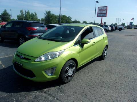 2012 Ford Fiesta for sale at DAVE KNAPP USED CARS in Lapeer MI
