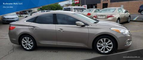 2013 Hyundai Azera for sale at Xcelerator Auto LLC in Indiana PA