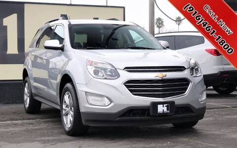 2017 Chevrolet Equinox for sale at H1 Auto Group in Sacramento CA