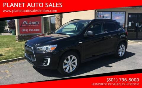 2015 Mitsubishi Outlander Sport for sale at PLANET AUTO SALES in Lindon UT