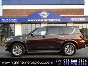 2019 Infiniti QX80 for sale at Highline Group Motorsports in Lowell MA