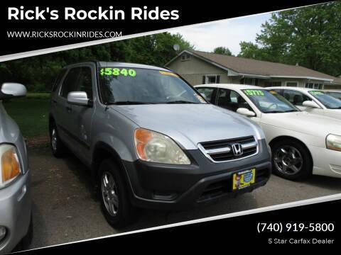 2003 Honda CR-V for sale at Rick's Rockin Rides in Reynoldsburg OH