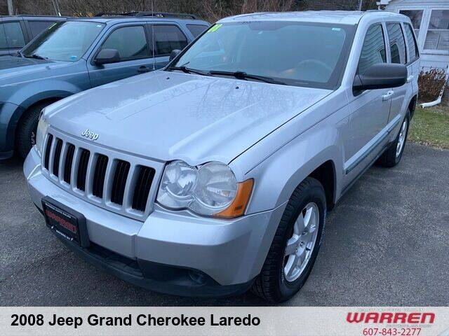 2008 Jeep Grand Cherokee for sale at Warren Auto Sales in Oxford NY
