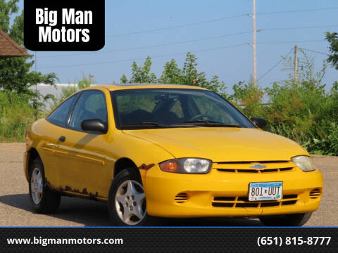2003 Chevrolet Cavalier for sale at Big Man Motors in Farmington MN